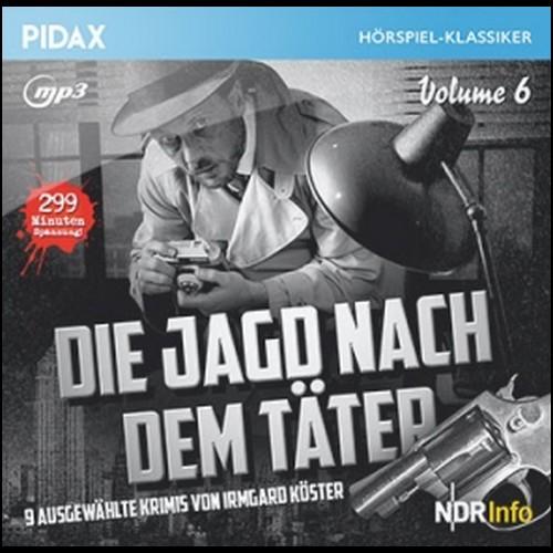 Die Jagd nach dem Täter - Vol. 6 (Irmgard Köster) NDR 1959 - 1961 / Pidax 2020