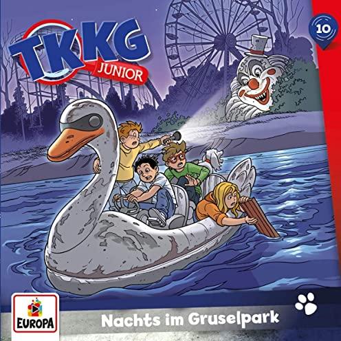 TKKG Junior (10) Nachts im Gruselpark  - Europa 2020
