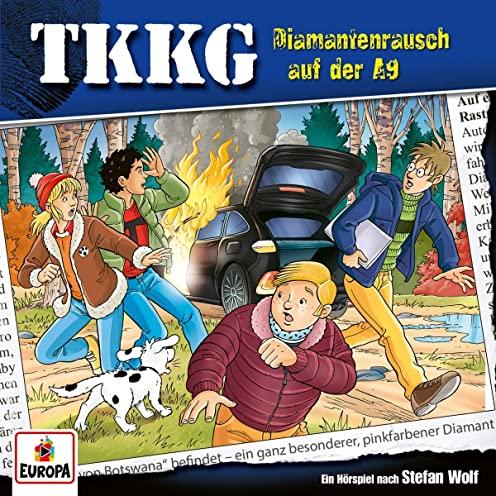TKKG (214) Diamantenrausch auf der A9  - Europa 2020