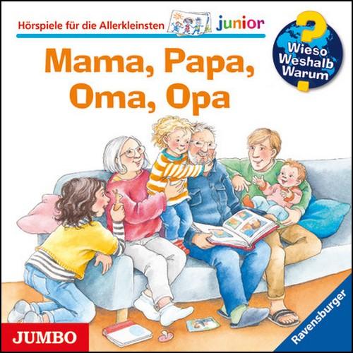 Wieso? Weshalb? Warum? Junior () Mama, Papa, Oma, Opa - Jumbo 2020