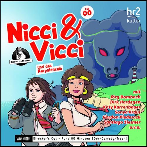 Nicci & Vicci und das Karpatenkalb<br>Ein Fall für die 2 ii-Pünktchen-Detektive (Klaus Krückemeyer) RadioLiveTheater / hr 2020