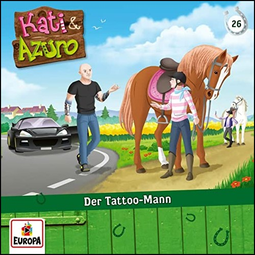 Kati & Azuro (26) Der Tattoo-Mann  - Europa 2020