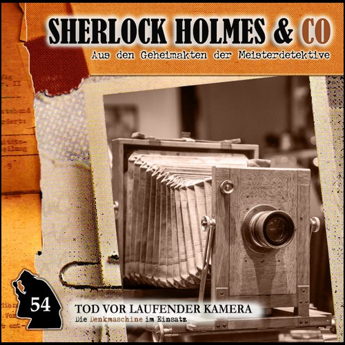 Sherlock Holmes und Co. (54) Tod vor laufender Kamera  - Romantruhe Audio 2020