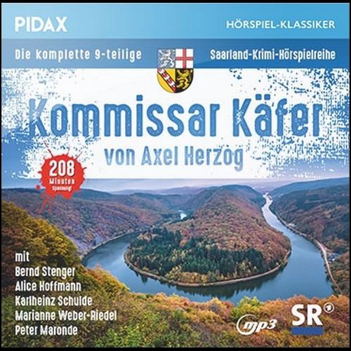 Kommissar Käfer (Axel Herzog) SR 1983-1991 / Pidax 2020