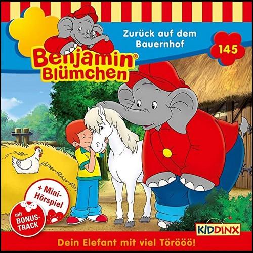 Benjamin Blümchen (145) Zurück auf dem Bauernhof  - Kiddinx 2020