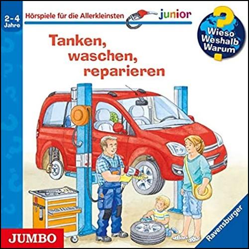 Wieso? Weshalb? Warum? Junior () Tanken, waschen, reparieren - Jumbo 2020