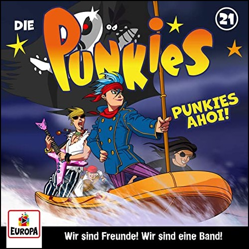 Die Punkies (21) Punkies Ahoi! - Europa 2020