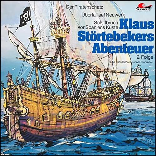 Klaus Störtebekers Abenteuer (2) Der Piratenschatz und andere Abenteuer - Maritim 1974 - All Ears 2020