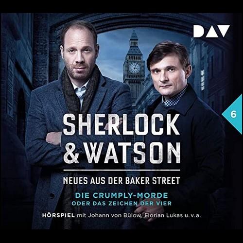 Sherlock und Watson - Neues aus der Baker Street (6) Die Crumply-Morde oder Das Zeichen der Vier - DAV 2020