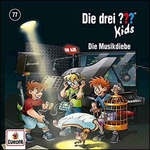 Die drei ??? Kids (77) Die Musikdiebe  - Europa 2020