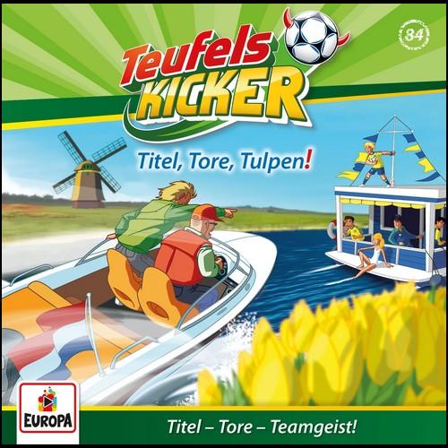 Teufelskicker  (84) Titel,Tore,Tulpen!  - Europa 2020