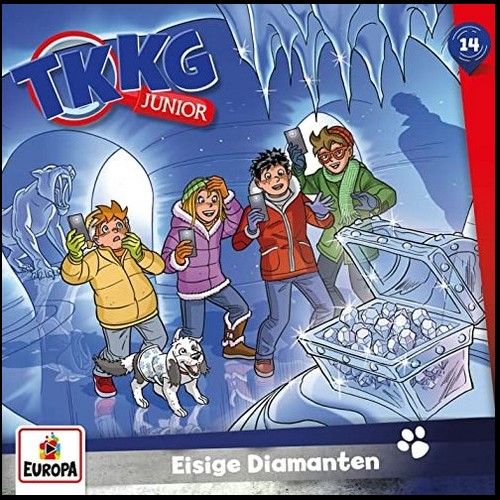 TKKG Junior (14) Eisige Diamanten - Europa 2020