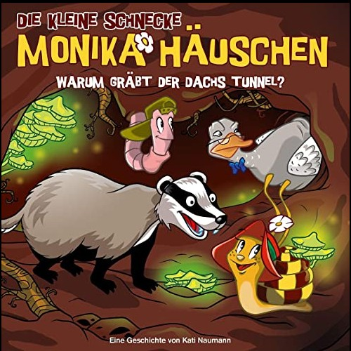 Die kleine Schnecke Monika Häuschen (58) Warum gräbt der Dachs Tunnel?  - Karussell 2020