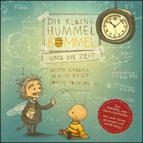 Die kleine Hummel Bommel und die Zeit (Britta Sabbag, Maite Kelly) Silberfisch-Hörbuch Hamburg 2020