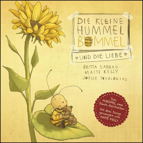Die kleine Hummel Bommel und die Liebe (Britta Sabbag, Maite Kelly) Silberfisch-Hörbuch Hamburg 2020