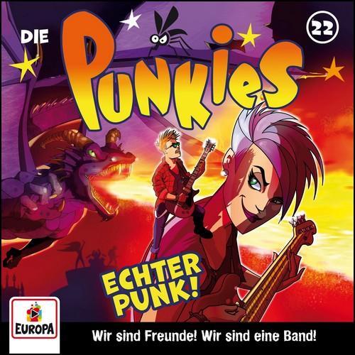 Die Punkies (22) Echter Punk! - Europa