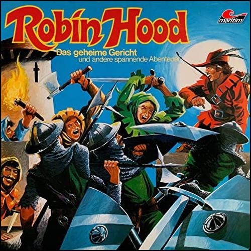 Robin Hood (2) Das geheime Gericht und andere spannende Abenteuer - Maritim 1974 - All Ears 2020