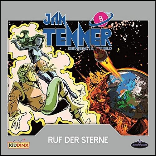 Jan Tenner (8) Ruf der Sterne - Zauberstern Records 2020