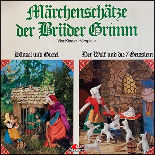 Märchenschätze der Brüder Grimm (1) Hänsel und Gretel, Der Wolf und die sieben Geißlein, Rotkäppchen, Rumpelstilzchen - Maritim 1970 / All Ears 2020
