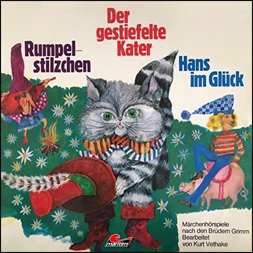 Rumpelstilzchen / Der gestiefelte Kater / Hans im Glück  (Gebrüder Grimm) Maritim 1974 - All Ears 2020