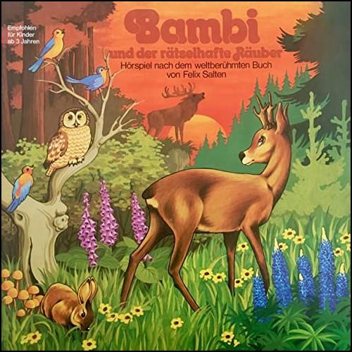 Bambi (3) Bambi und der rätselhafte Räuber - Peggy 1977 - All Ears