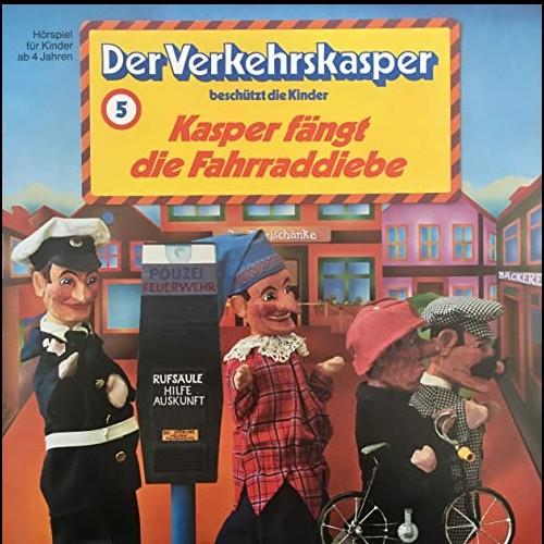 Der Verkehrskasper beschützt die Kinder (5) Kasper fängt die Fahrraddiebe - BASF 1974 - All Ears 2020