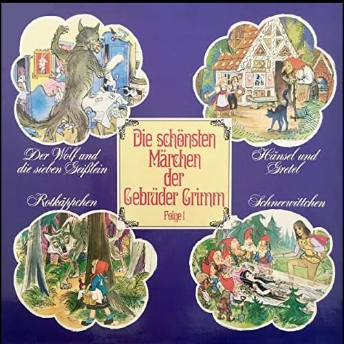 Die schönsten Märchen der Gebrüder Grimm (1) Der Wolf und die sieben Geißlein / Hänsel und Gretel / Rotkäppchen / Schneewittchen - Telefunken 1968 - All Ears 2020