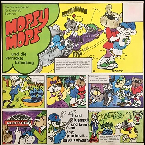 Mopsy Mops (3) Mopsy Mops und die verrückte Erfindung - Paradiso 1971 - Hierax Medien 2011 - All Ears 2020