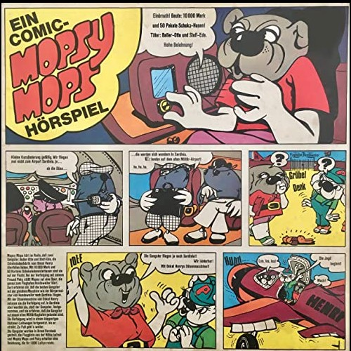 Mopsy Mops (1) Ein Comic-Hörspiel - Europa 1970 - Hierax Medien 2011 - All Ears 2020