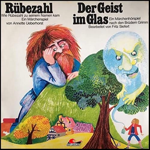 Rübezahl / Der Geist im Glas  (Trad. Gebrüder Grimm) Maritim 1974 - All Ears 2020
