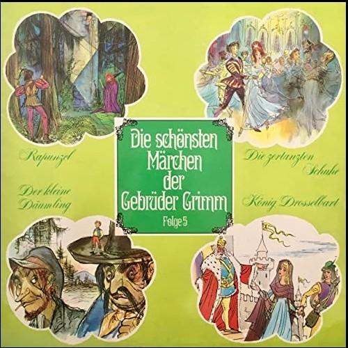 Die schönsten Märchen der Gebrüder Grimm (5) Rapunzel - Die zertanzten Schuhe - Der kleine Däumling - König Drosselbart - Telefunken 1968 - All Ears 2020
