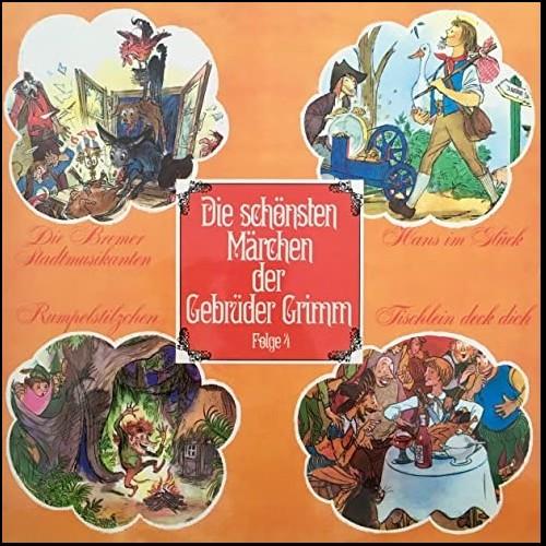 Die schönsten Märchen der Gebrüder Grimm (4) Die Bremer Stadtmusikanten / Hans im Glück / Rumpelstilzchen / Tischlein deck dich - Telefunken 1968 - All Ears 2020
