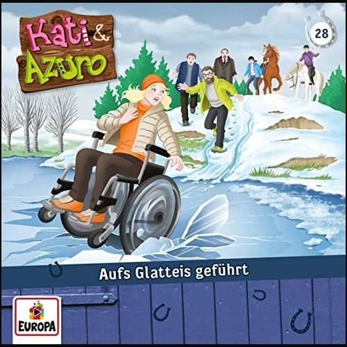 Kati und Azuro (28) Aufs Glatteis geführt  - Europa 2020