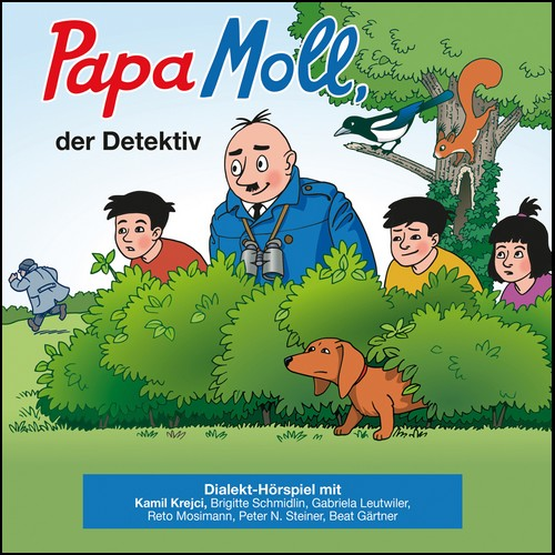 Papa Moll der Detektiv () Globi Verlag 2020