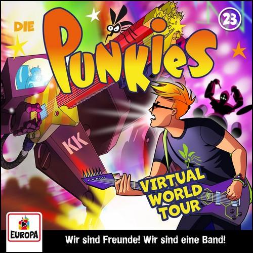 Die Punkies  (23) Virtual World Tour! - Europa 2020