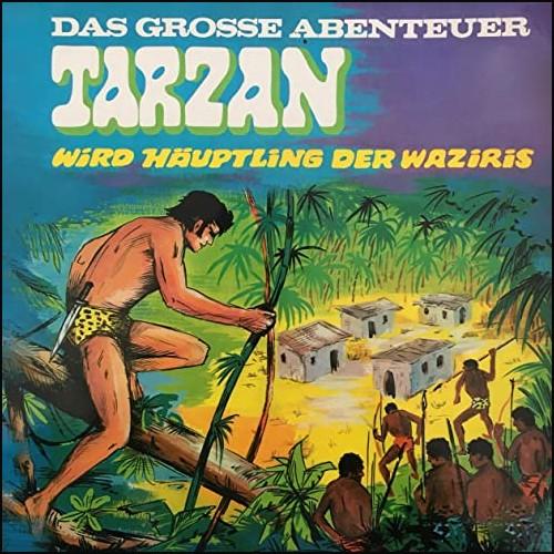 Tarzan - Das große Abenteuer (3) Tarzan wird Häuptling der Waziris - All Ears - Telefunken 1969