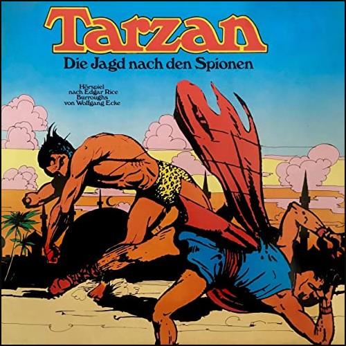 Tarzan (3) Die Jagd nach den Spionen - All Ears - Fontana 1972