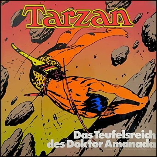 Tarzan (8) Das Teufelsreich des Doktor Amanada - All Ears - Fontana 1975