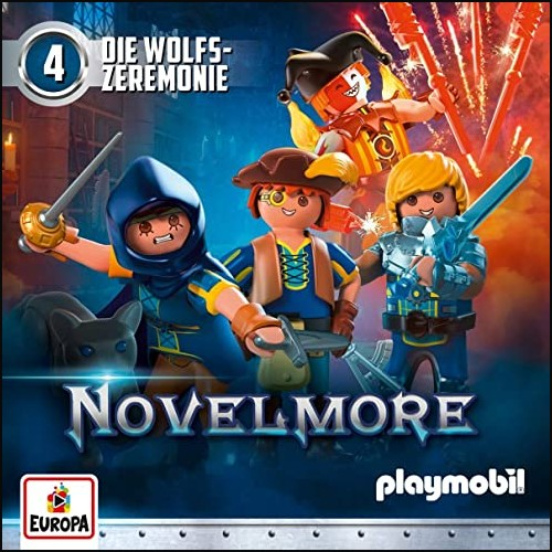 Playmobil Hörspiele  (4) Novelmore: Die Wolfs- Zeremonie  - Europa 2020