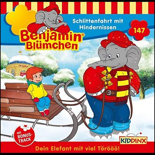 Benjamin Blümchen (147) Schlittenfahrt mit Hindernissen  - Kiddinx 2021