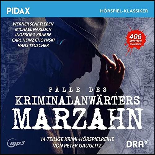 Fälle des Kriminalanwärters Marzahn (Peter Gauglitz) Rundfunk der DDR 1980-1985 - Pidax 2021