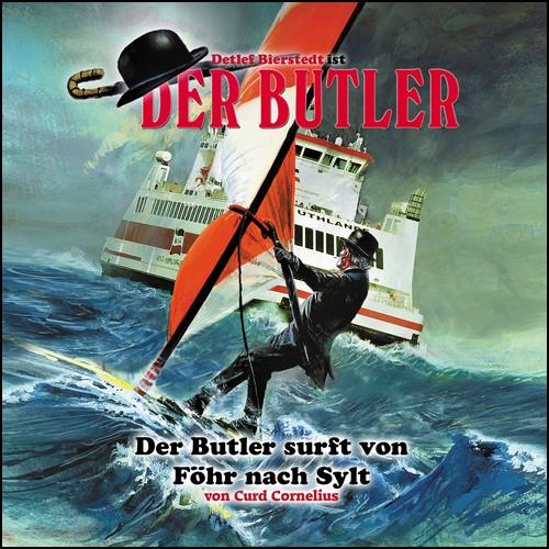 Der Butler (3) Der Butler surft von Föhr nach Sylt - Winterzeit 2015