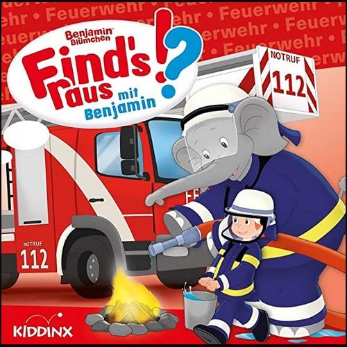 Find's raus mit Benjamin  (5) Feuerwehr - Kiddinx 2021