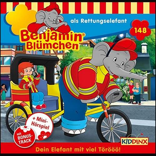 Benjamin Blümchen (148) Als Rettungselefant - Kiddinx 2021