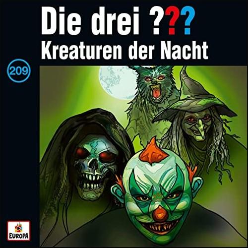 Die drei ??? (209) Kreaturen der Nacht - Europa 2021