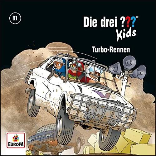 Die drei ??? Kids (81) Turbo-Rennen - Europa 2021