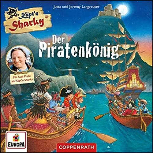 Käpt'n Sharky - Der Piratenkönig  - Europa - Coppenrath 2021