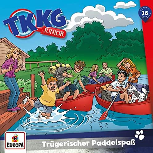 TKKG Junior (16) Trügerischer Paddelspaß - Europa 2021
