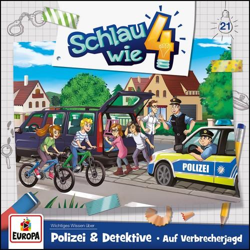 Schlau wie Vier (21) Polizei und Detektive - Auf Verbrecherjagd - Europa 2021