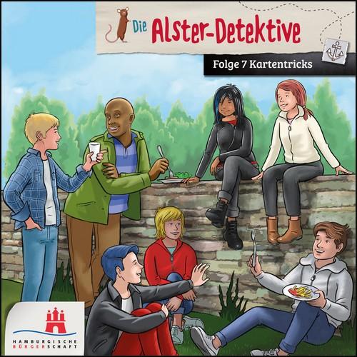 Die Alster-Detektive (7) Kartentricks - Bürgerschaft Hamburg 2021